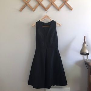 Alfred Sung Black Formal Dress — D610 style